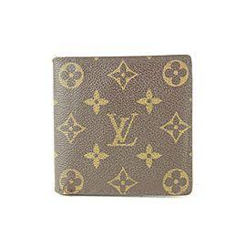 Louis Vuitton Monogram Marco Florin Slender Multiple Bifold Wallet 687lvs621