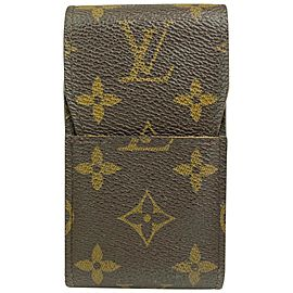 Louis Vuitton Monogram Cigarette Case Monogram Etui Holder 15ALV102