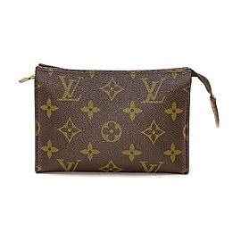 Louis Vuitton Monogram Toiltery Pouch 15 Cosmetic Case 863501