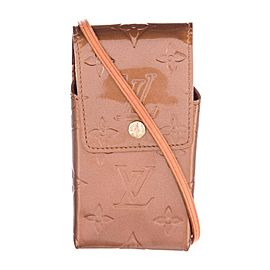 Louis Vuitton Monogram Vernis Greene Crossbody Bronze Copper 218827