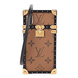 Louis Vuitton Reverse Monogram Eye Trunk iPhone X Xs Crossbody Phone Case 270lvs216