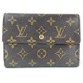 Louis Vuitton Monogram Alexandra Trifold Wallet 17LVL1125