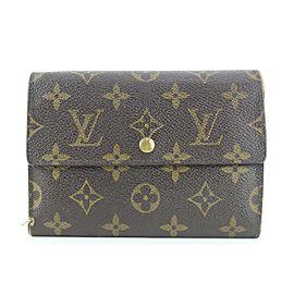 Louis Vuitton Monogram Alexandra Trifold Wallet 59lvs115