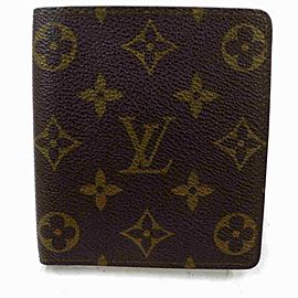 Louis Vuitton Bifold Men's Wallet Marco Multiple Florin Slender 859r525