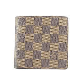 Louis Vuitton Rare Centenaire Edition Damier Ebene Bifold Multiple Wallet 7LK1210