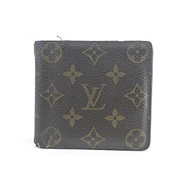 Louis Vuitton Monogram Multiple Slender Bifold Wallet 14LK0113