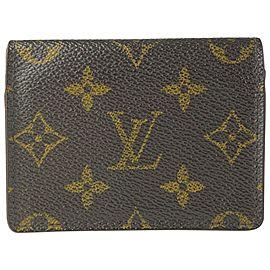 Louis Vuitton Monogram Card Holder Porte Cartes Wallet 13l520