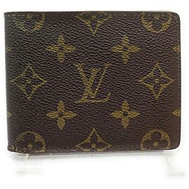 Louis Vuitton Monogram Porte Billets Wallet 9 Cartes Credit Slender Florin 862030