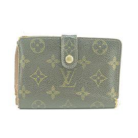 Louis Vuitton 41LK0109 Monogram Porte Viennois Kisslock French Twist Wallet