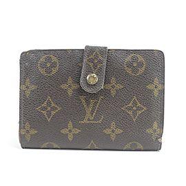 Louis Vuitton Kisslock Porte Viennois Wallet French Twist Purse 27LK0116