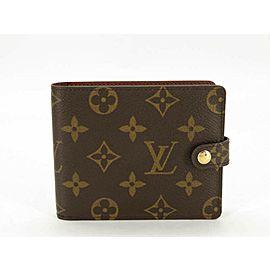 Louis Vuitton (Ultra Rare) Monogram Couverture Carnet Mini Notepad Cover Pen P 871178