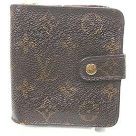 Louis Vuitton Monogram Compact Zip Wallet 862916