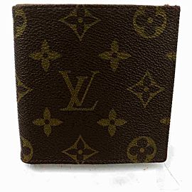 Louis Vuitton Monogram Multiple Wallet Bifold Slender Marco Florin 860335