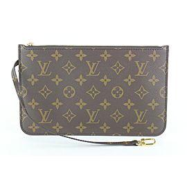 Louis Vuitton Monogram Teddy Neverfull Pochette Wristlet Pouch Bag 266lvs512