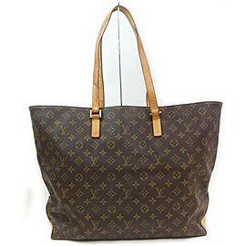 Louis Vuitton Large Monogram Cabas Alto Tote Bag
