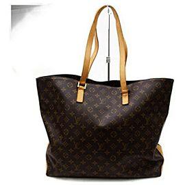 Louis Vuitton Cabas Alto XL Monogram Tote Gm 872828 Brown Coated Canvas Shoulder Bag
