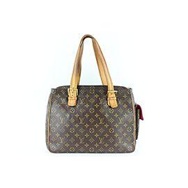 Louis Vuitton Cité Monogram Vivacite Gm 8lz1129 Brown Coated Canvas Shoulder Bag