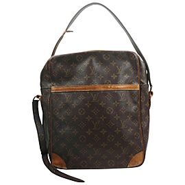 Louis Vuitton XL Monogram Danube GM Crossbody Bag 863018