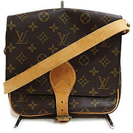 Louis Vuitton Monogram Cartouchiere PM Crossbody Bag 862881