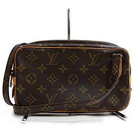 Louis Vuitton Monogram Pochette Marly Bandouliere Crossbody Bag