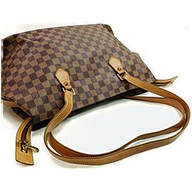 Louis Vuitton Damier Ebene Columbine 100th Anniversary Centenaire 872692 Brown Coated Canvas Shoulder Bag