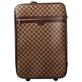 Louis Vuitton Damier Ebene Pegase 55 Rolling Luggage Trolley 861376