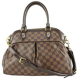 Louis Vuitton Damier Ebene Trevir 2way Bowler Bag 635lvs617