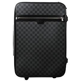 Louis Vuitton Damier Graphite Pegase 50 Rolling Luggage Trolley 860757