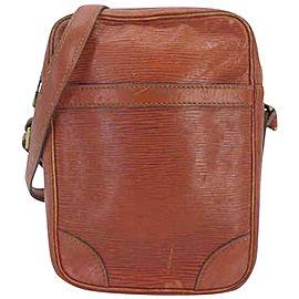 Louis Vuitton Danube Kenya 234370 Brown Epi Leather Cross Body Bag