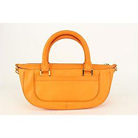 Louis Vuitton Orange Epi Leather Dhanura PM Yoga Bag with Strap 818lv64