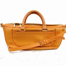 Louis Vuitton Yoga Orange Epi Dhanura MM 871283