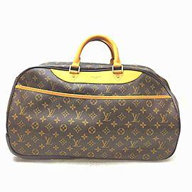 Louis Vuitton Monogram Eole Rolling Luggage Duffle Boston 861302
