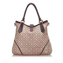 Louis Vuitton Shopping Elegie Hobo Monogram Idylle Sepia with Strap 20l615 Burgundy Shoulder Bag