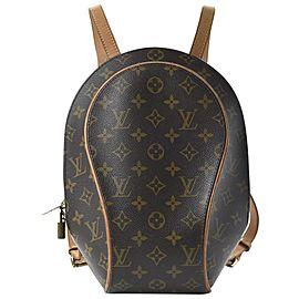 Louis Vuitton Monogram Sac a Dos Ellipse Backpack Shell 914lvs414