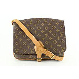 Louis Vuitton Monogram Cartouchiere GM Crossbody Flap Bag Cult Sierre 552lvs611