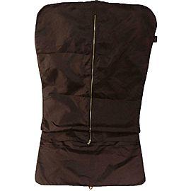 Louis Vuitton Garment Cover Carrier 871468 Brown Nylon Weekend/Travel Bag