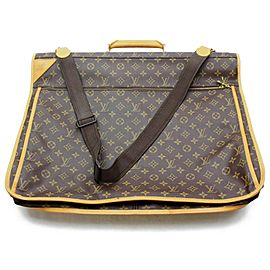 Louis Vuitton Portable Cabin Monogram Garment Bag with Strap 872888