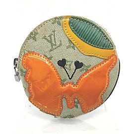 Louis Vuitton Monogram Mini Lin Conte De Fees Porte Monnaie Round Coin Purse 862890