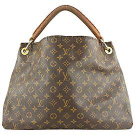 Louis Vuitton Monogram Artsy MM Hobo Bag 558lvs614