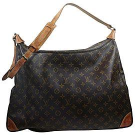 Louis Vuitton XL Monogram Boulogne 50 Sac Ballad Hobo Bag 862954