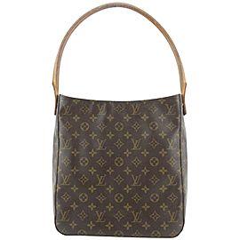 Louis Vuitton Monogram Looping GM Zip Hobo Bag