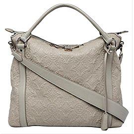 Louis Vuitton Gris Antheia Monogram Leather Ixia PM Bag 235lvs56