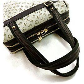 Louis Vuitton Josephine Pm Boston Boston 872565 Olive Khaki Monogram Mini Lin Satchel