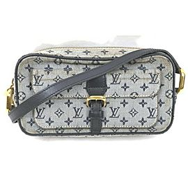 Louis Vuitton Navy Blue Monogram Mini Lin Juliette Crossbody 861524
