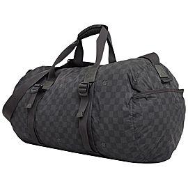 Louis Vuitton Damier Graphite Practical Keepall Bandouliere Duffle 231504