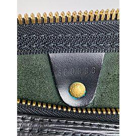 Louis Vuitton Black Epi Leather Noir Keepall 45 Duffle PM 861553