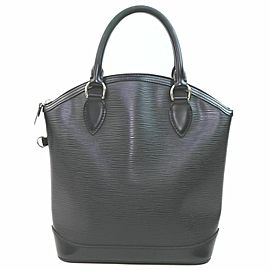Louis Vuitton Black Epi Leather Lockit 861175