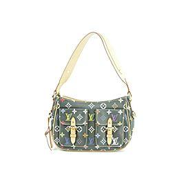 Louis Vuitton Lodge Noir Pm 4lr0323 Black Monogram Multicolore Canvas Shoulder Bag