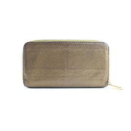 Louis Vuitton Zippy Wallet Long 228121 Bronze Suhali Leather Clutch