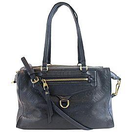 Louis Vuitton Lumineuse Pm Bleu Infini 2way 2lz0810 Blue Monogram Empreinte Leather Shoulder Bag